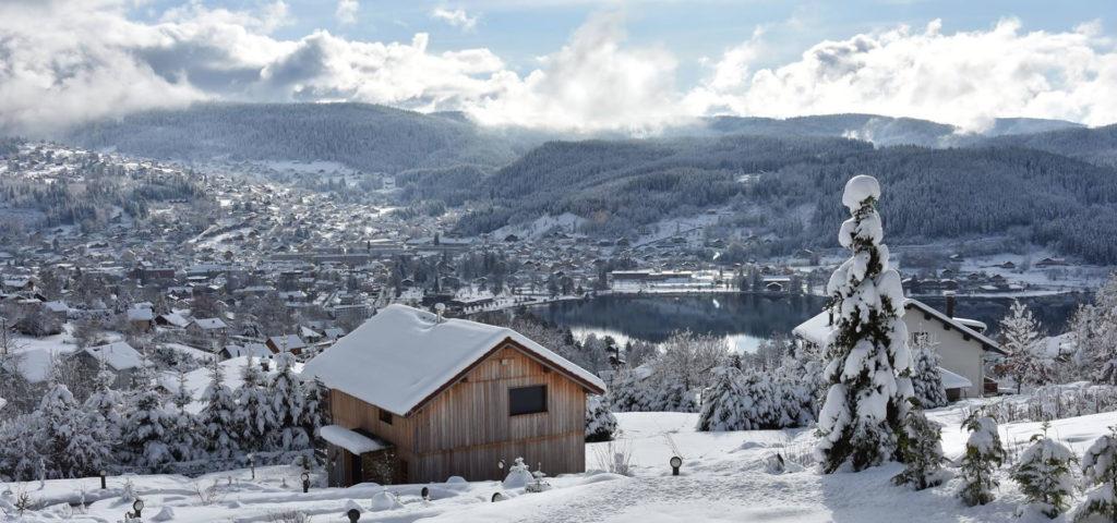 Gérardmer station de ski des Vosges !